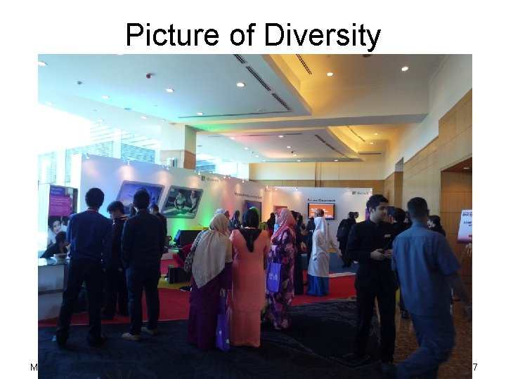 Picture of Diversity May 29, 2013 Academic Writing 27