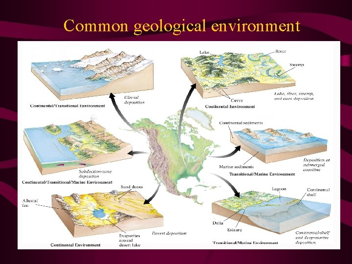 Common geological environment