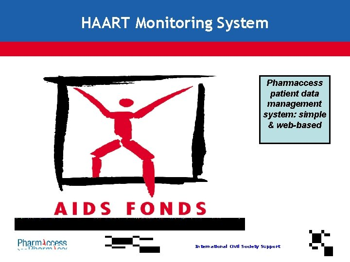 HAART Monitoring System Pharmaccess patient data management system: simple & web-based International Civil Society