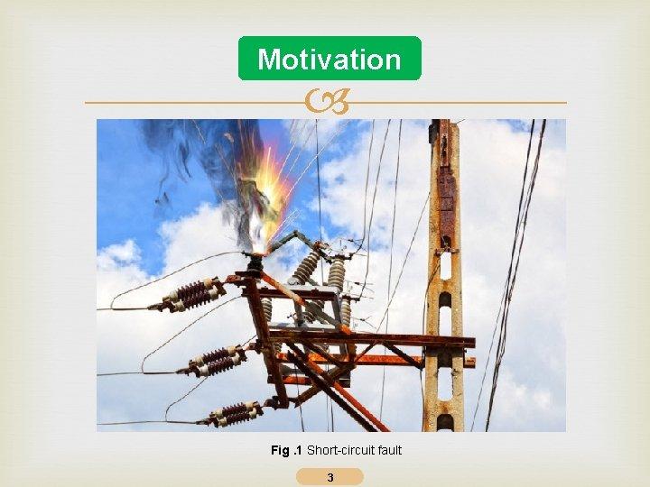 Motivation Fig. 1 Short-circuit fault 3