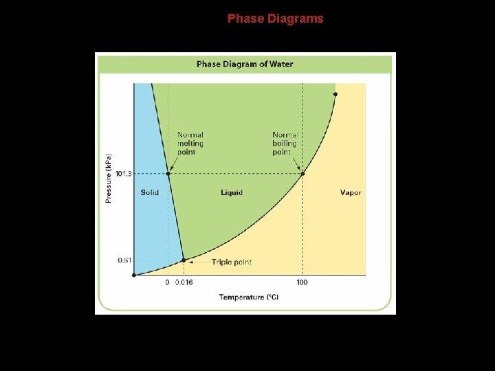 13. 4 Phase Diagrams