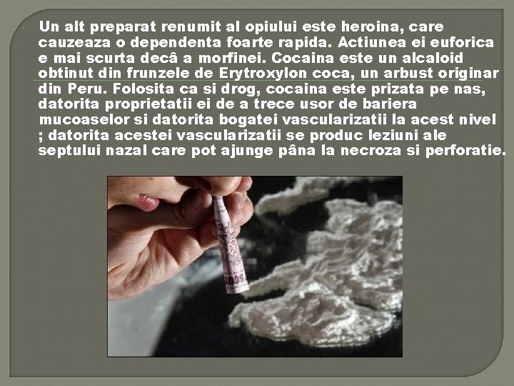 pierderea în greutate de dependență de crack)