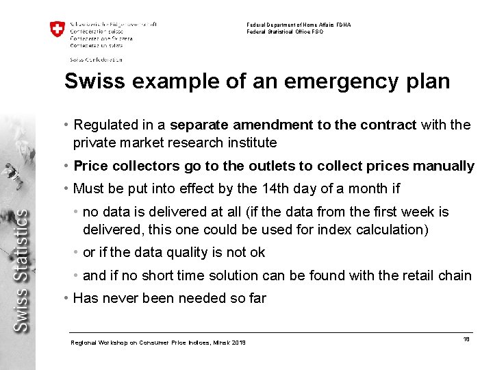 Federal Department of Home Affairs FDHA Federal Statistical Office FSO Swiss example of an