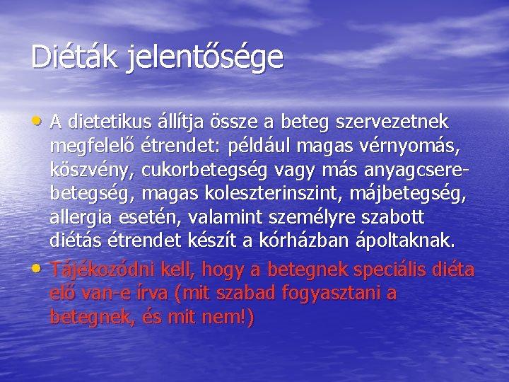 Fekélybetegek étrendje – Zuborit Kft.