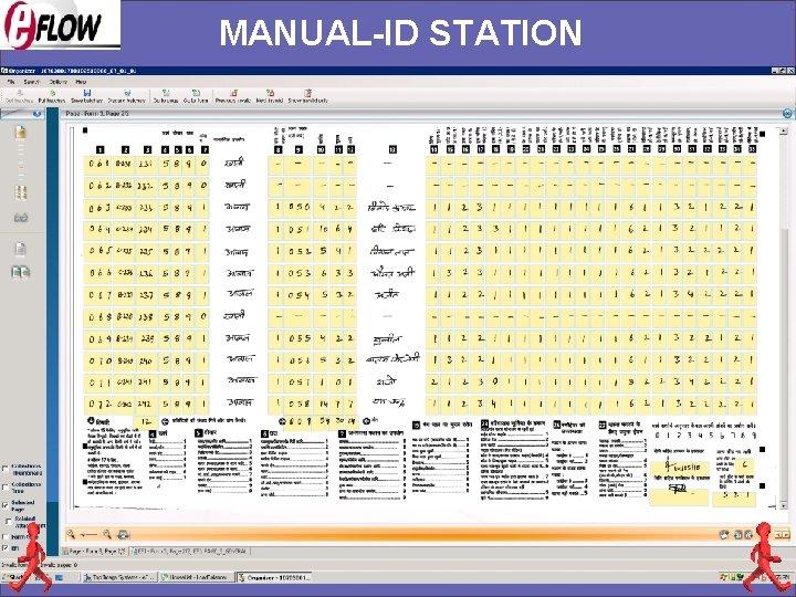 MANUAL-ID STATION