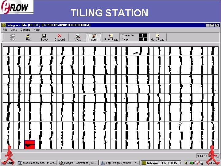 TILING STATION
