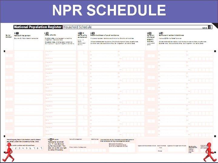 NPR SCHEDULE