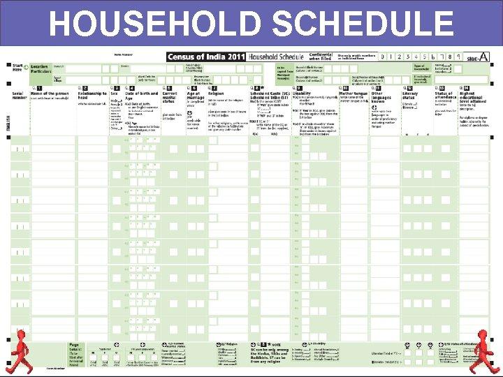 HOUSEHOLD SCHEDULE