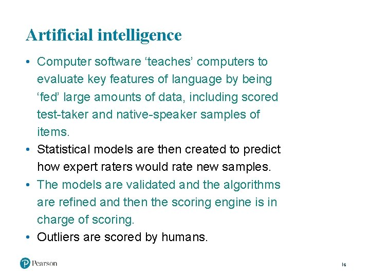 Artificial intelligence • Computer software 'teaches' computers to evaluate key features of language by