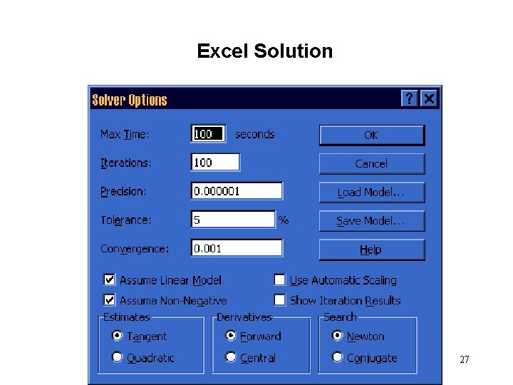 Excel Solution 27