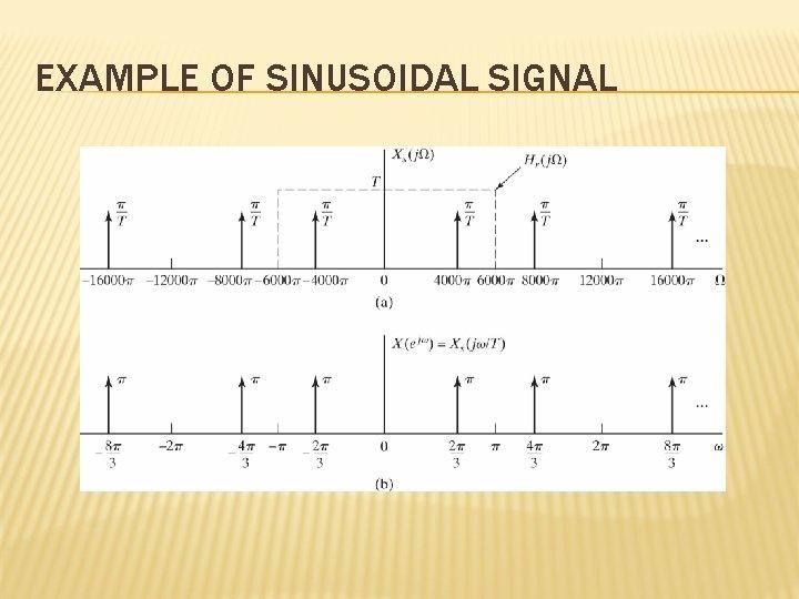 EXAMPLE OF SINUSOIDAL SIGNAL