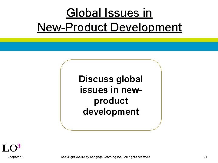 Global Issues in New-Product Development Discuss global issues in newproduct development LO 3 Chapter