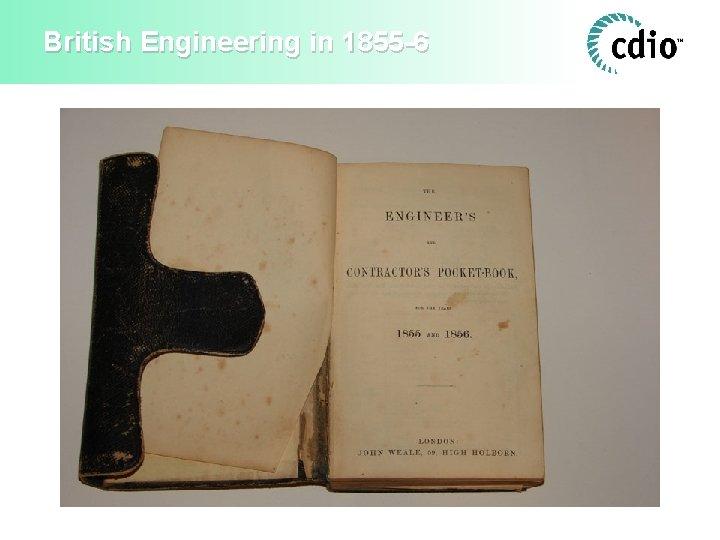 British Engineering in 1855 -6