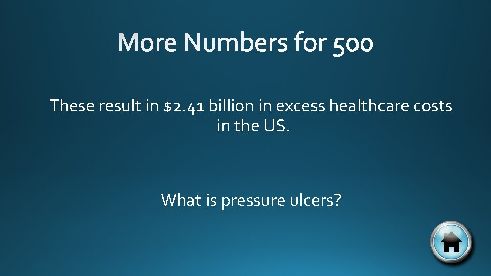 These result in $2. 41 billion in excess healthcare costs in the US. What