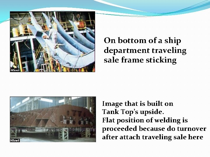 On bottom of a ship department traveling sale frame sticking Image that is built