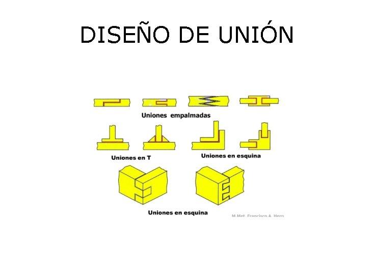 DISEÑO DE UNIÓN