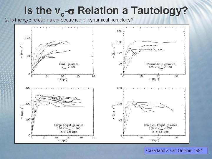 Is the vc- Relation a Tautology? 2. Is the vc- relation a consequence of