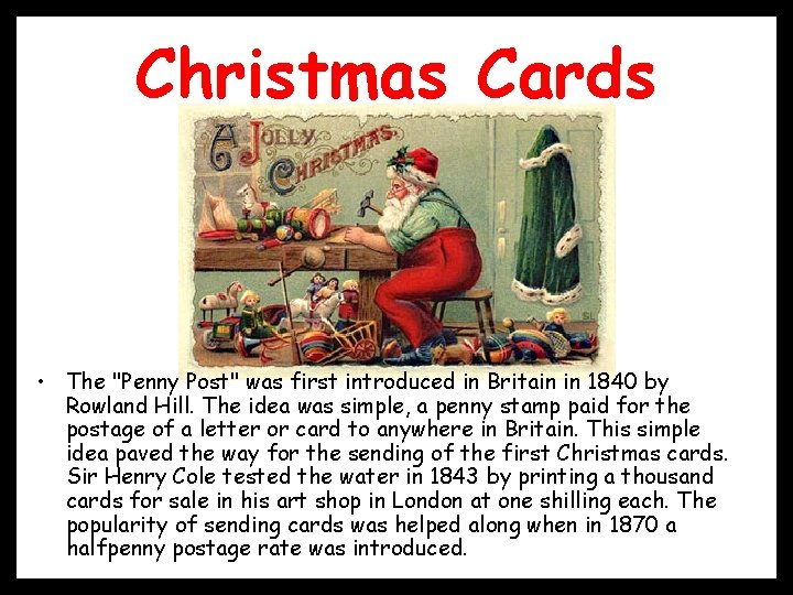 Christmas Cards • The