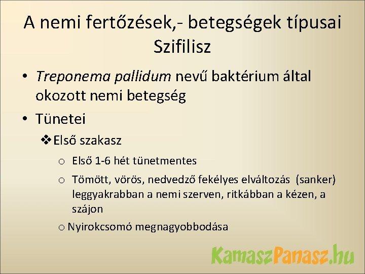 baktériumok által okozott betegségek)