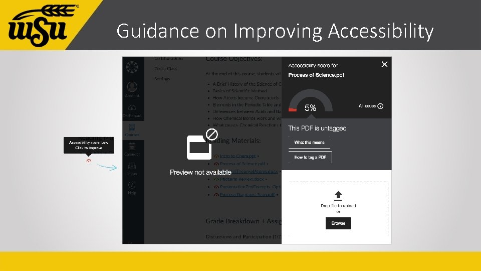Guidance on Improving Accessibility
