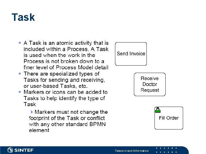 Task Telecom and Informatics