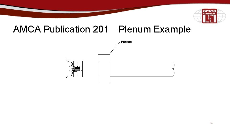 AMCA Publication 201—Plenum Example Plenum 34