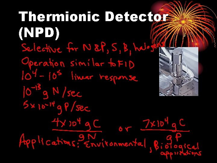 Thermionic Detector (NPD)