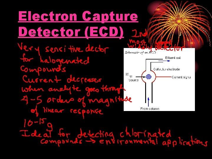 Electron Capture Detector (ECD)