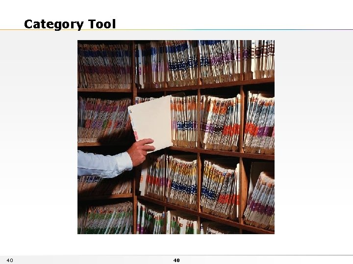 Category Tool 40 40