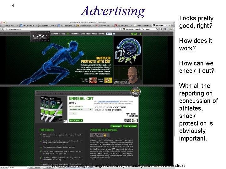 4 Advertising Looks pretty good, right? How does it work? How can we check