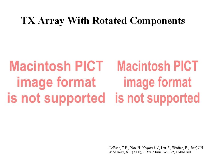 TX Array With Rotated Components La. Bean, T. H. , Yan, H. , Kopatsch,