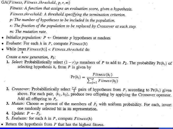 CS 472 - Evolutionary Algorithms 20