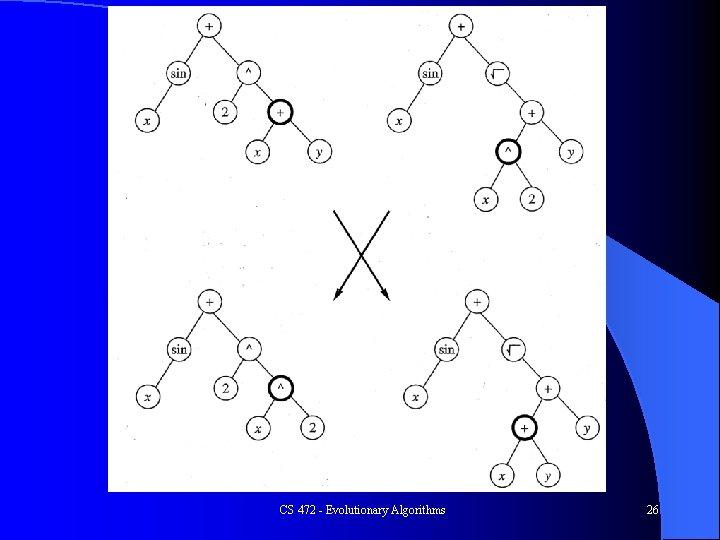 CS 472 - Evolutionary Algorithms 26