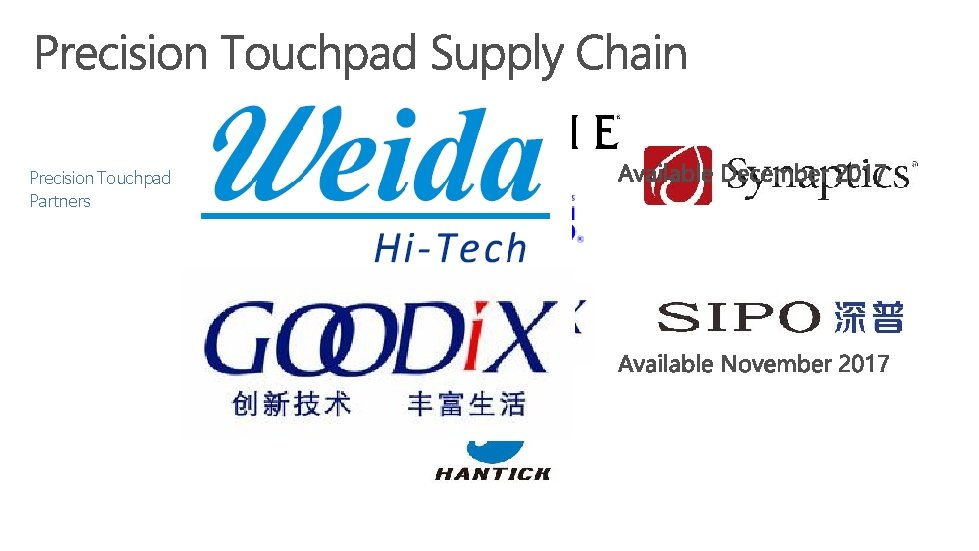 Precision Touchpad Partners