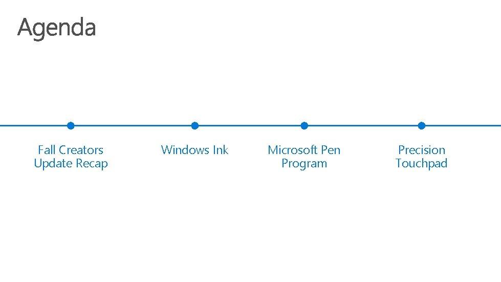 Fall Creators Update Recap Windows Ink Microsoft Pen Program Precision Touchpad