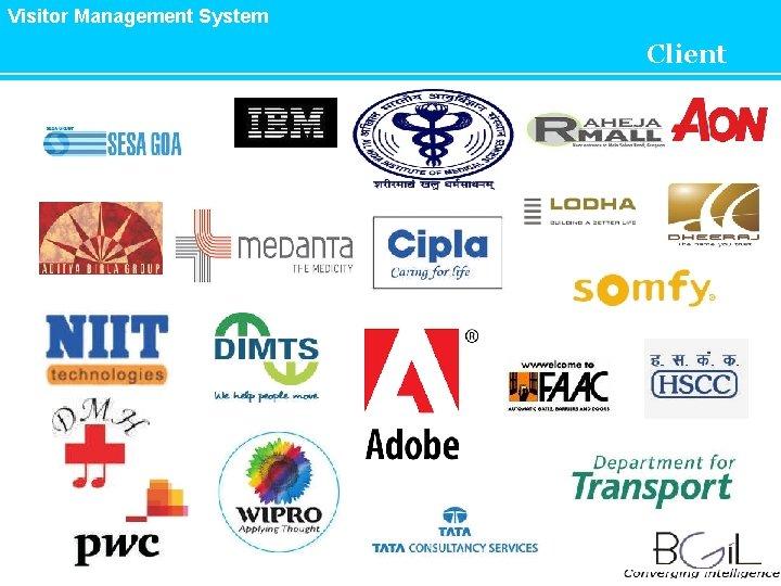 Visitor Management System Client