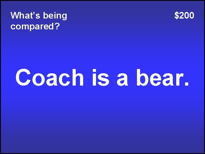 What's being compared? $200 Coach is a bear.
