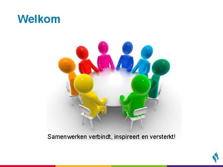 Welkom Samenwerken verbindt, inspireert en versterkt!