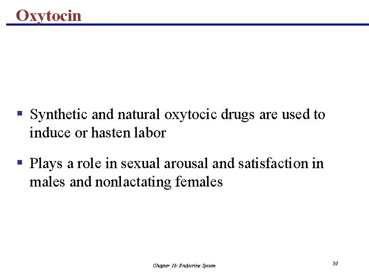 Oxytocin § Synthetic and natural oxytocic drugs are used to induce or hasten labor
