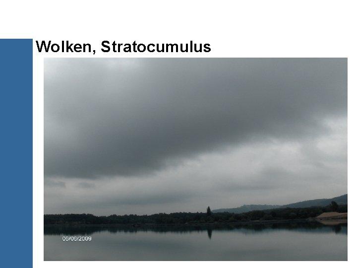 Wolken, Stratocumulus 19/20