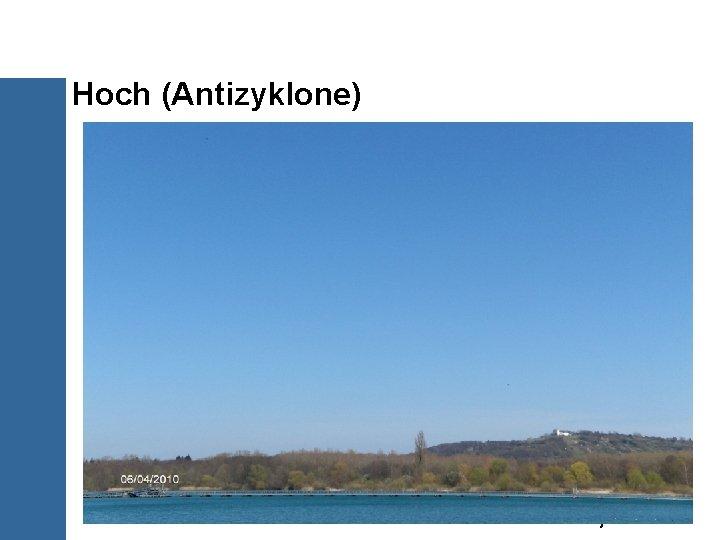 Hoch (Antizyklone) 23/30