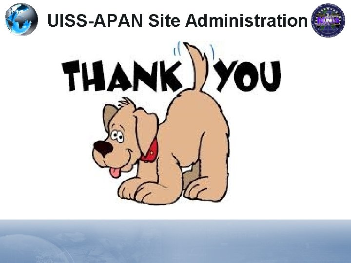 UISS-APAN Site Administration