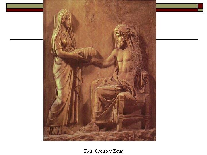 Rea, Crono y Zeus