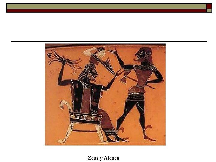 Zeus y Atenea