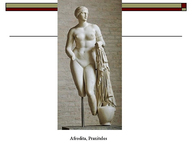 Afrodita, Praxiteles