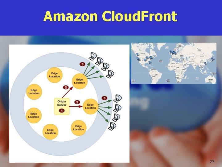 Amazon Cloud. Front 23