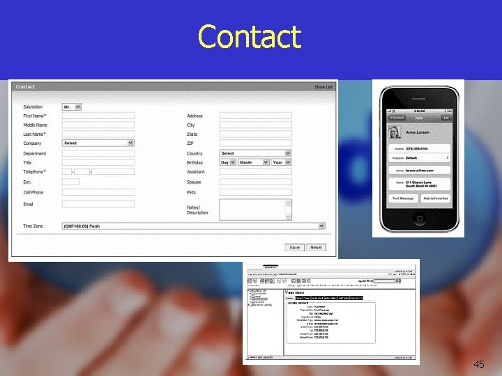 Contact 45