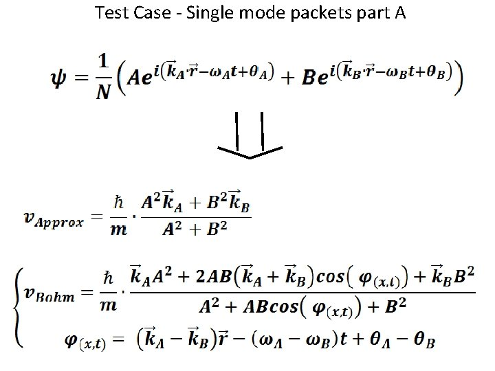 Test Case - Single mode packets part A