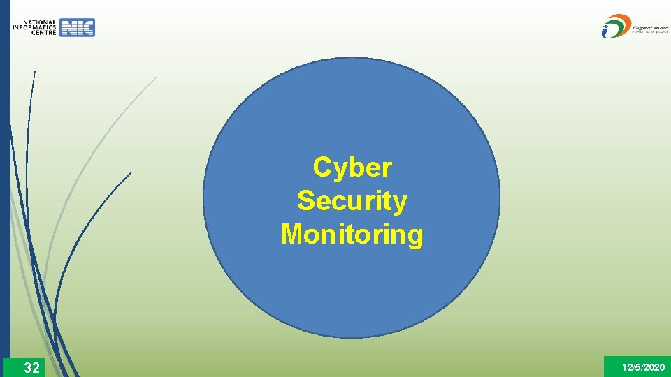 Cyber Security Monitoring 32 12/5/2020