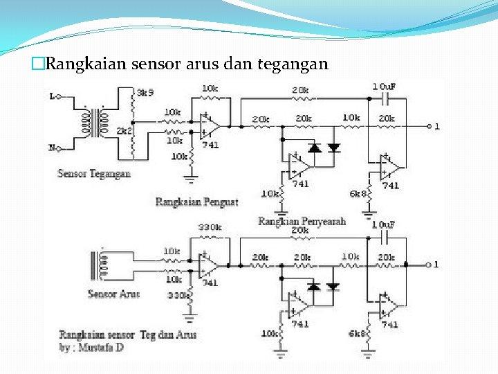 �Rangkaian sensor arus dan tegangan